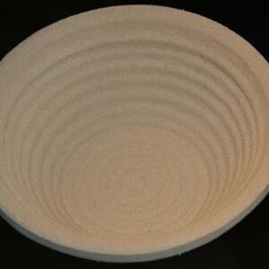 Cos de pulpa lemn,0.75Kg, rotund, diam 18.5 cm, model crestat